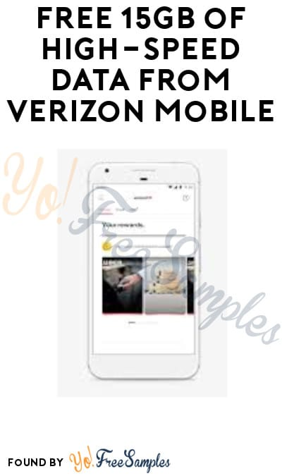 FREE 15GB of High-Speed Data from Verizon Mobile