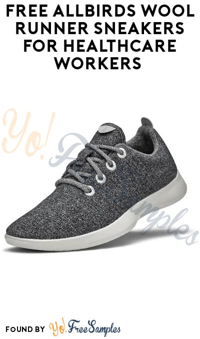 FREE Allbirds Wool Runner Sneakers for Healthcare Workers (Email Required)