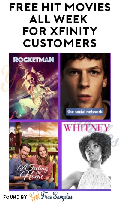 FREE Hit Movies All Week for Xfinity Customers