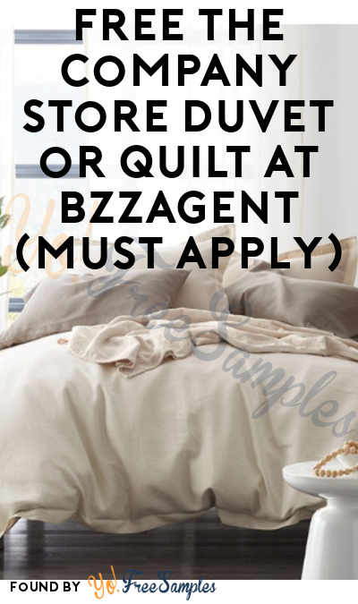 FREE The Company Store Duvet, Blanket or Quilt At BzzAgent (Must Apply)