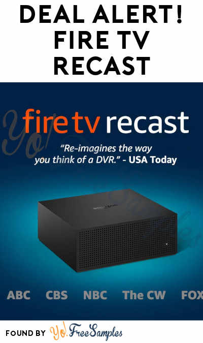 DEAL ALERT: Up To 39% Off Fire TV Recast Over-The-Air DVR 500GB & 1TB on Amazon