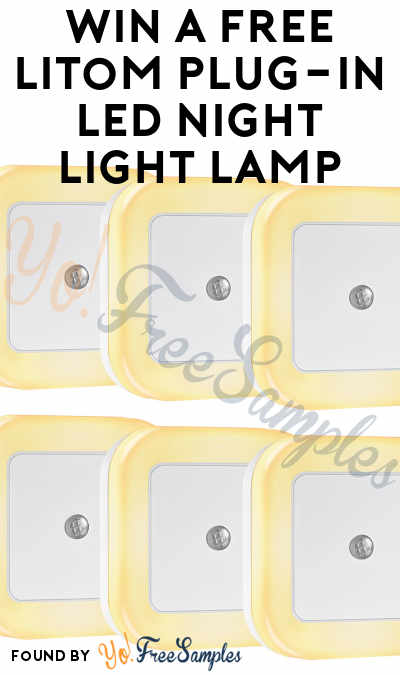 Win A FREE Litom Plug-in LED Night Light Lamp