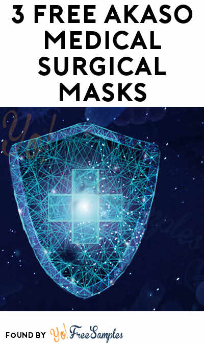 3 FREE AKASO Medical Surgical Masks [Verified Received By Mail]