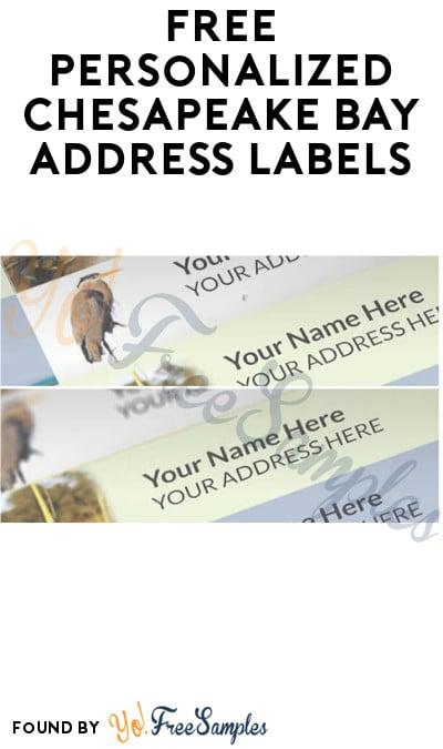 FREE Personalized Chesapeake Bay Address Labels