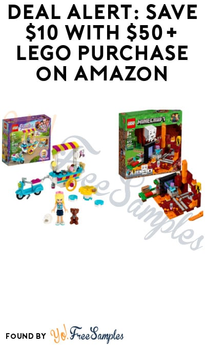 DEAL ALERT: Save $10 with $50+ LEGO Purchase on Amazon