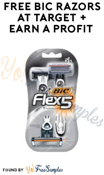 FREE BIC Razors at Target + Earn A Profit (Ibotta Required + In-Stores Only)