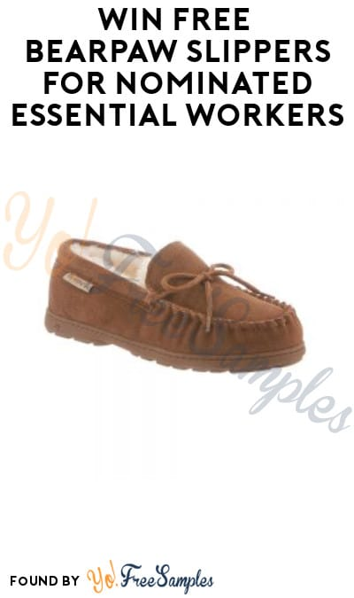 Extended & More Pairs Added! FREE Bearpaw Slippers for Nominated Essential Workers
