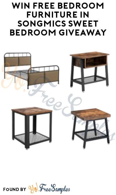 Win FREE Bedroom Furniture in SONGMICS Sweet Bedroom Giveaway