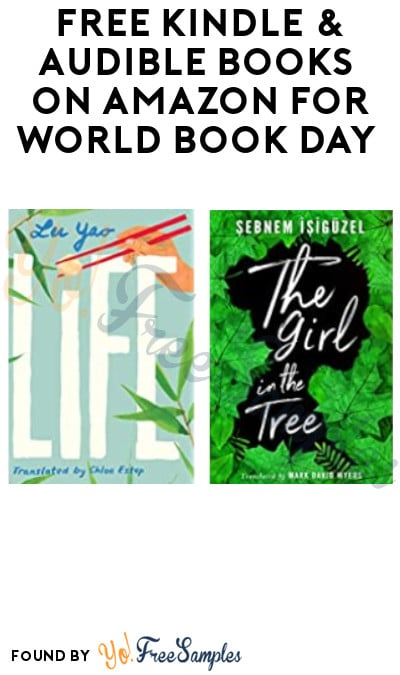 FREE Kindle & Audible Books on Amazon for National Book Day