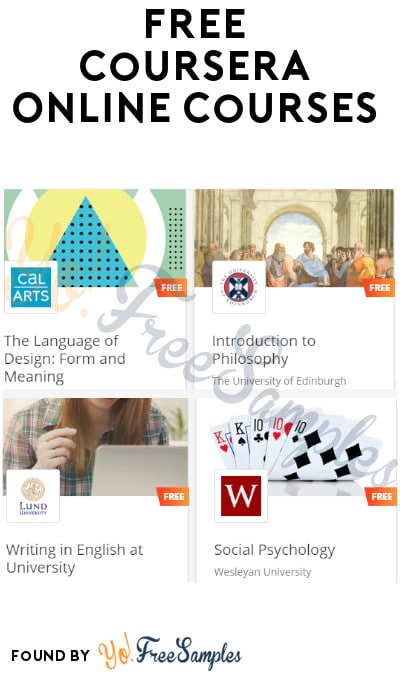 FREE Coursera Online Courses