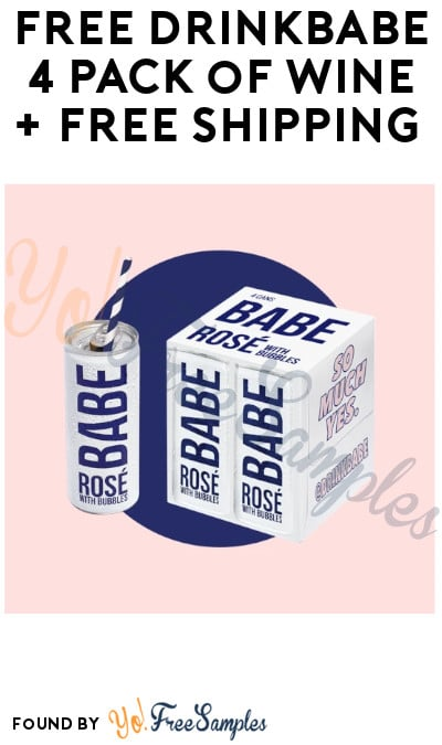 FREE or CHEAP DrinkBabe 4 Pack of Wine + FREE Shipping (Select States Only & Only for Ages 21 & Older)