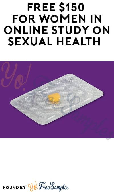 FREE $150 for Women in Online Study on Sexual Health