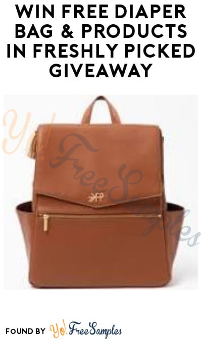 Win FREE Diaper Bag & Baby Products in Freshly Picked Giveaway