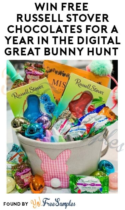 Win FREE Russell Stover Chocolates for a Year in the Digital Great Bunny Hunt (Instagram Required)