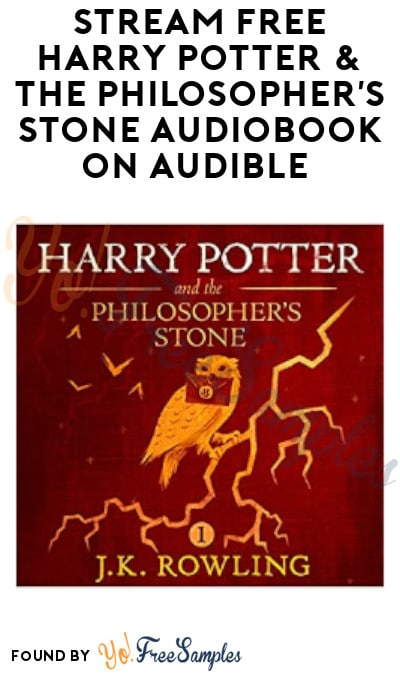 FREE Harry Potter & The Philosopher's Stone Audiobook on Audible