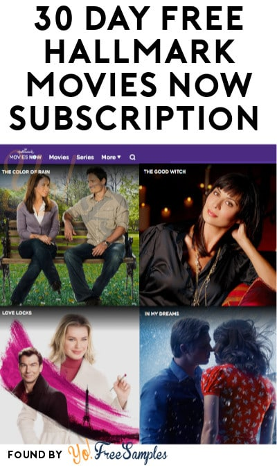 30 Day FREE Hallmark Movies Now Subscription (Credit Card Required)