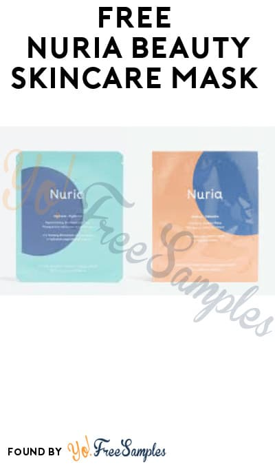 FREE Nuria Beauty Skincare Mask (Instagram Required)