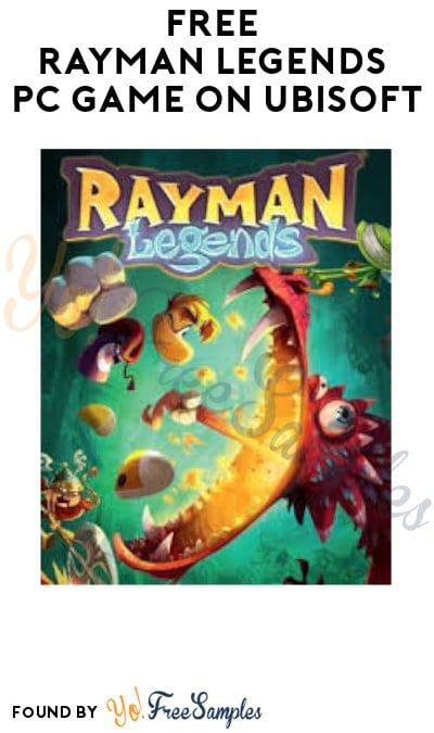 FREE Rayman Legends PC Game (Ubisoft Account Required)