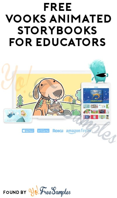 1 Year FREE Vooks Animated Storybooks for Educators
