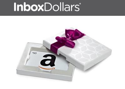InboxDollars Amazon Gift Cards