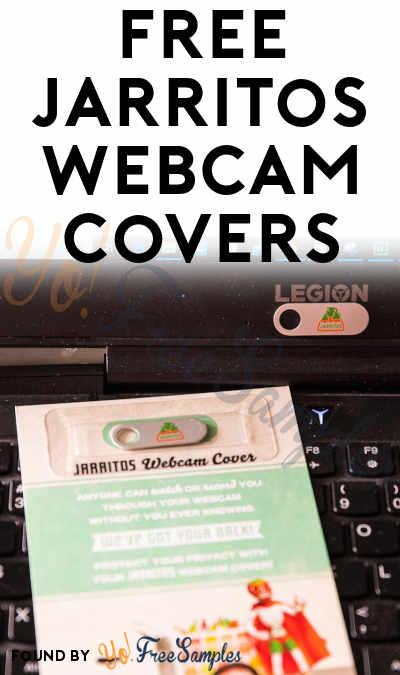FREE Jarritos Webcam Covers