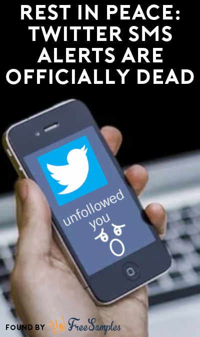 RIP: Twitter SMS Text Alerts Are Officially Dead