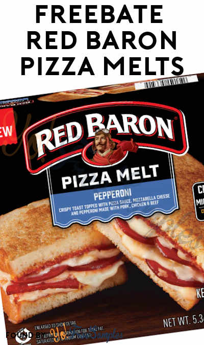 FREEBATE Red Baron Pizza Melts