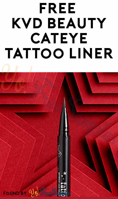 First 500! FREE KVD Beauty Tattoo Liner (Text Required)