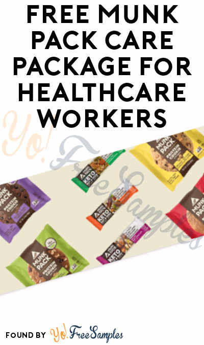 FREE Munk Pack Care Package for Healthcare Workers