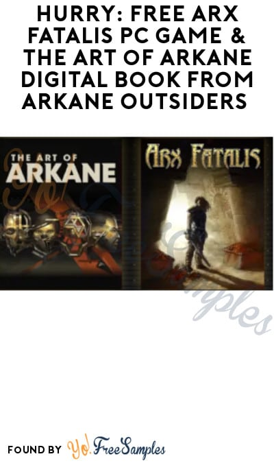 Ends 3/31! FREE Arx Fatalis PC Game & The Art of Arkane Digital Book from Arkane Outsiders