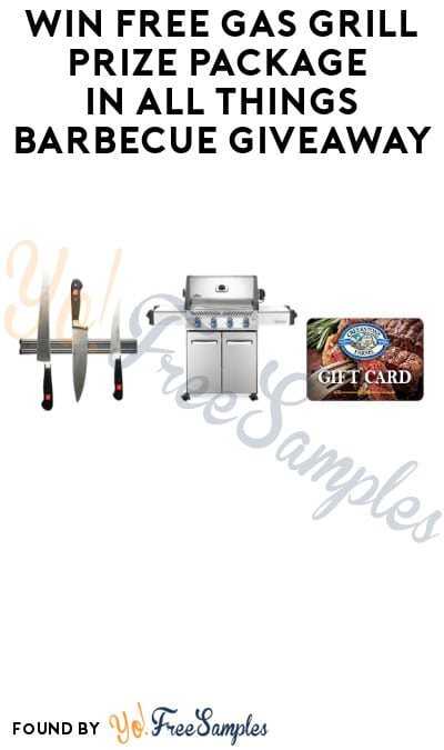 Win FREE Gas Grill Prize Package in All Things Barbecue Giveaway