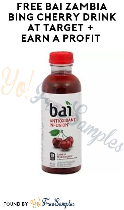 FREE Bai Zambia Bing Cherry Drink at Target + Earn A Profit (Target Circle + Ibotta Required)