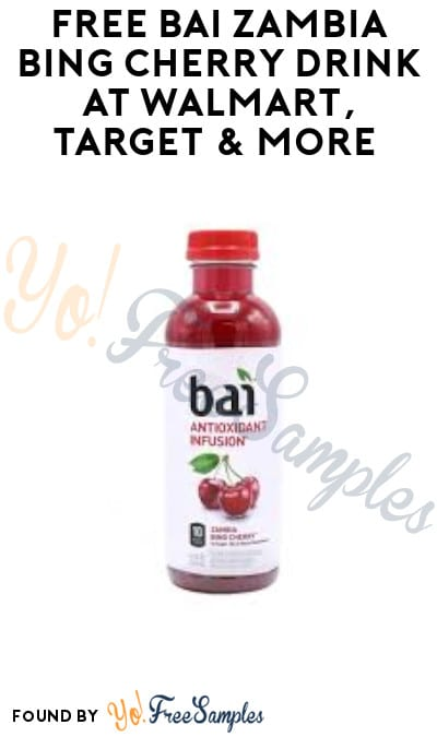 FREEBATE Bai Zambia Bing Cherry Drink at Walmart, Target & More (Ibotta Required)