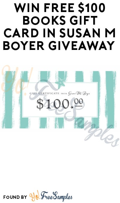 Win FREE $100 Books Gift Card in Susan M Boyer Giveaway