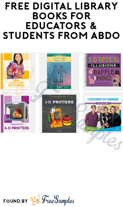 FREE Digital Library Books for Educators & Students from ABDO