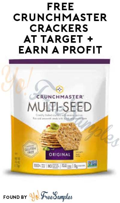 FREE Crunchmaster Crackers at Target + Earn A Profit (Ibotta & Target Circle Required)