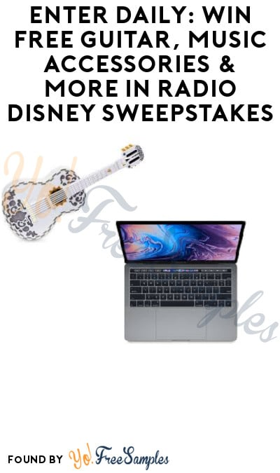 Enter Daily: Win FREE Guitar, Music Accessories & More in Radio Disney Sweepstakes