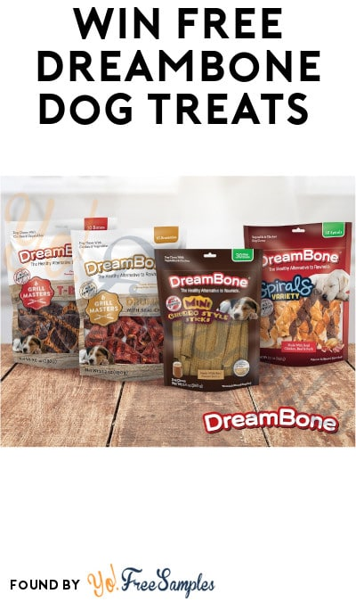 Win FREE DreamBone Dog Treats