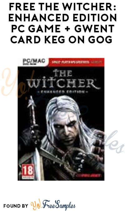 FREE The Witcher: Enhanced Edition PC Game + Gwent Card Keg on GOG (Account + Newsletter Signup Required)
