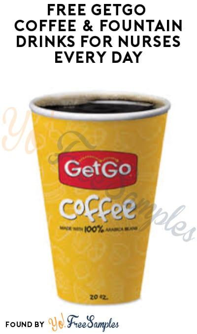 FREE GetGo Coffee & Fountain Drinks for Nurses Every Day