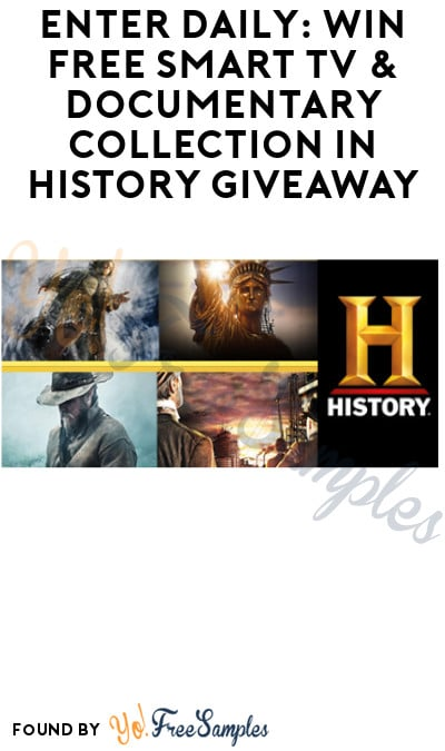 Enter Daily: Win FREE Smart TV & Documentary Collection in History Giveaway