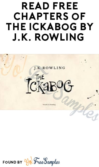 Read FREE Chapters of The Ickabog by J.K. Rowling