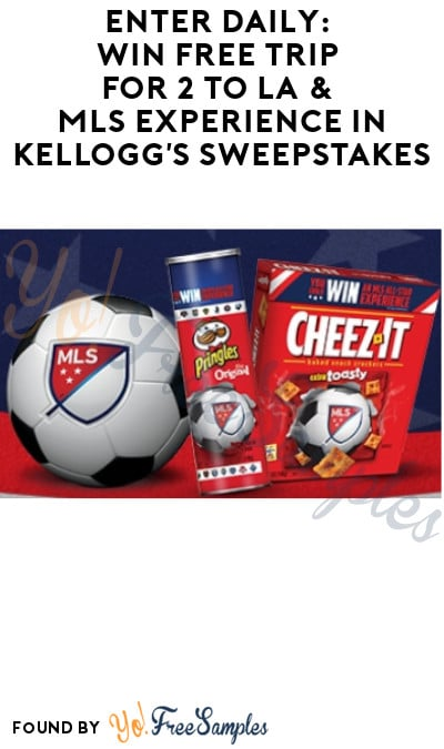 Enter Daily: Win FREE Trip for 2 to LA & MLS Experience in Kellogg's Sweepstakes