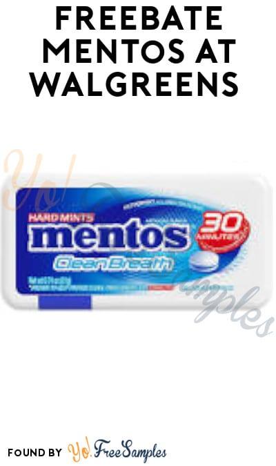 FREEBATE Mentos at Walgreens (Rewards Account Required)