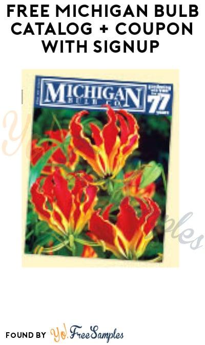 FREE Michigan Bulb Catalog + Coupon with Signup