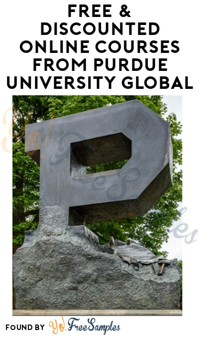 FREE & Discounted Online Courses from Purdue University Global