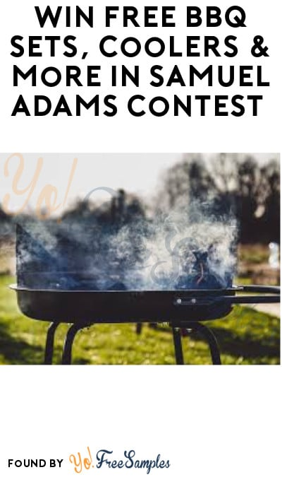 Win FREE BBQ Sets, Coolers & More in Samuel Adams Contest (Ages 21 & Older Only + Photo Required)