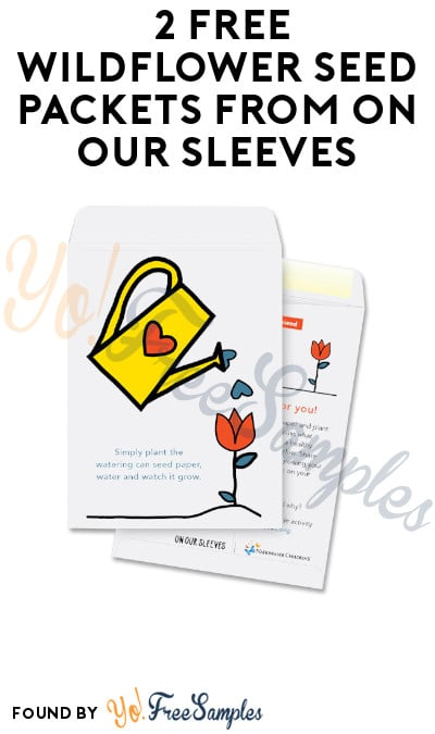 2 FREE Wildflower Seed Packets from On Our Sleeves