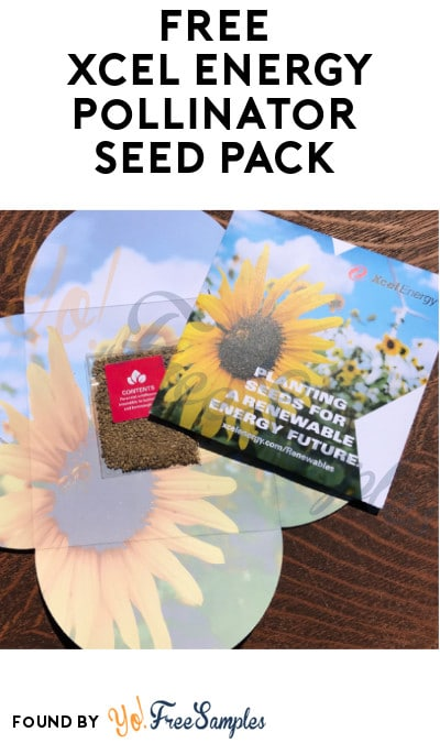FREE Xcel Energy Pollinator Seed Pack (Colorado & Minnesota Only)