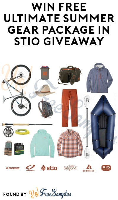 Win FREE Ultimate Summer Gear Package in Stio Giveaway